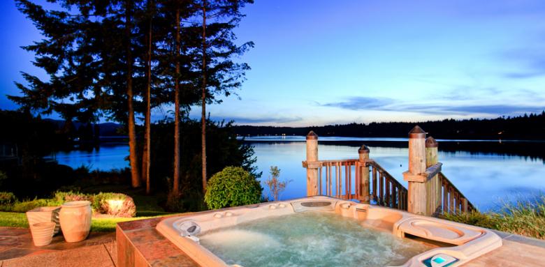 Pourquoi pas aménager un spa sur votre terrasse ?