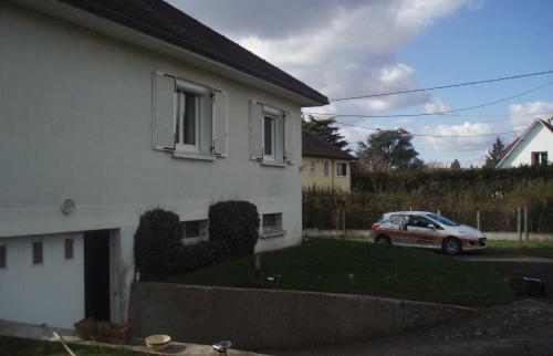 Maison avant les travaux de l'extension