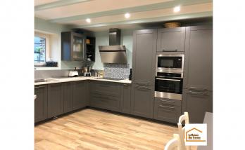 Mise en place d'une nouvelle cuisine à Granville (50400).