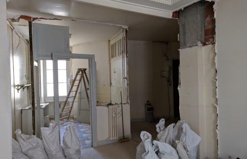 Rénovation Appartement Lyon 2 - Travaux en cours