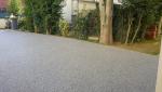 Terrasse en granulat de marbre à Jullouville (50610).